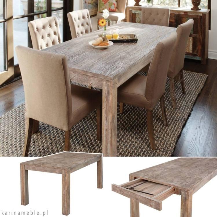 meble loftowe | stół rozkładane, industrialne, indyjskie, kolonialne, palisander, mango, jadalnia