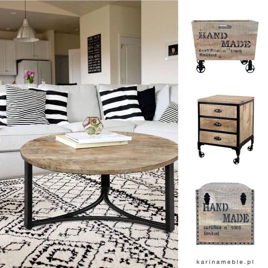 stolik, szafka, pufa, komoda, loftowe, industrialne, boho, vintage, drewniane, mango, drewno, palisander, akacja, indyjskie, kolonialne