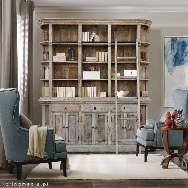 regał, biblioteczka, drabina, gabinet, loft, vintage, industrialne, meble, drewniane, drewno, palisander, akacja, mango, salon, sypialnia, przedpokój, loftowe