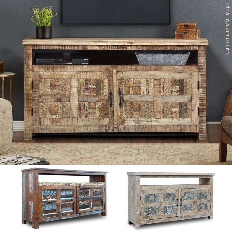 meble indyjskie, meble kolonialne, meble loftowe, meble drewniane, meble do salonu, meble z drewna z recyklingu