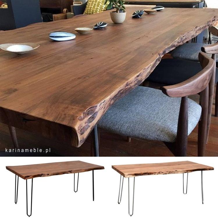 mebe-loftowe-stół organic-naturalne-deska-akacja