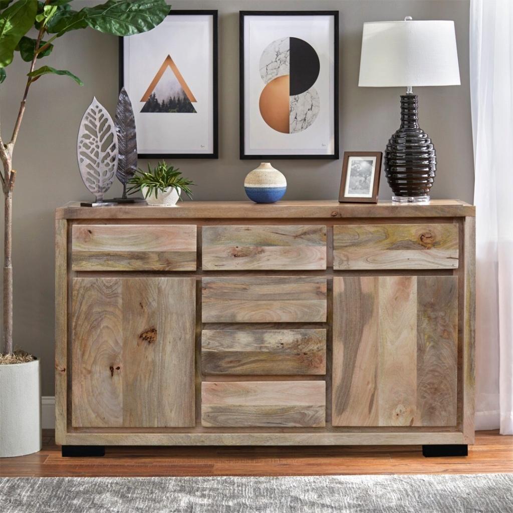 meble industrialne, loftowe, indyjskie, kolonialne, drewniane komoda